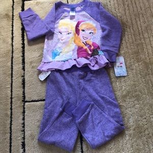 NWY Disney Frozen Long sleeves and Pants Size3T